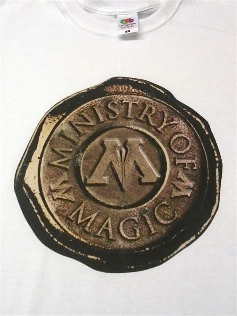 harry potter ministry  magic stamp