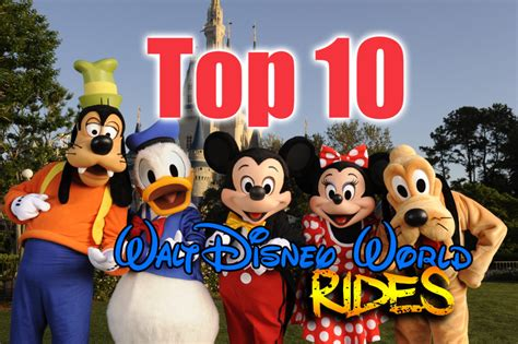 top   walt disney world rides disney news