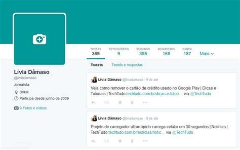 imagenes para perfil twitter como editar o novo perfil do twitter com fotos maiores e