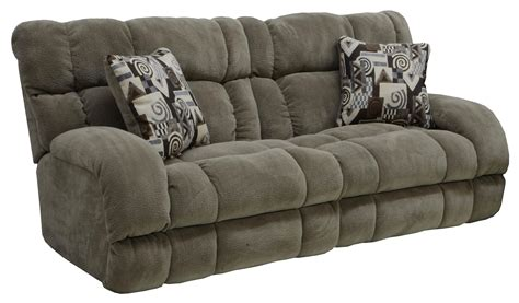 Reclining Sofa Chair Power Lay Flat Reclining Sofa With Wide Seats By Catnapper Wolf And Gardiner Wolf Furniture