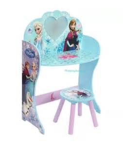 Frozen Vanity Makeup Set Dressing Tables Disney Frozen Princess Mirror Dresser