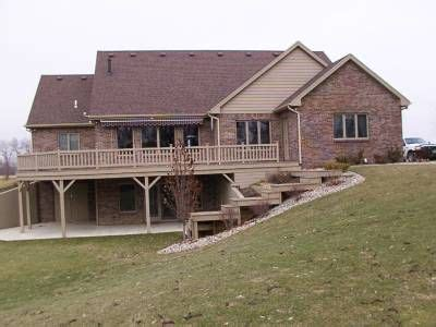 House Plans With Walkout Basement On Side by Walk Out Basement Farm House Basement