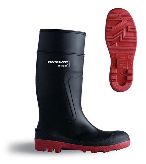 dunlop mens wellington boots acifort warwick dunlop mens safety wellington boots