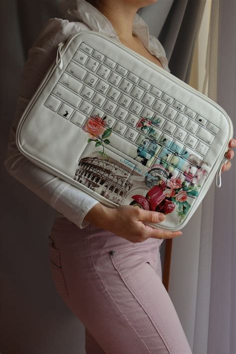 decoupage on leather laptop laptop bag laptop sleeve decoupage laptop