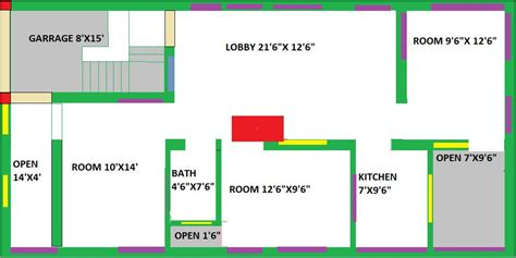 home design 25 x 50 house plan for 25 x 50 site house plans
