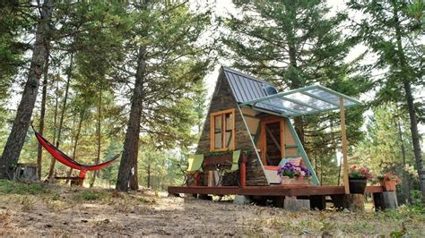 how to build a cottage house how to build a tiny cabin popsugar moms