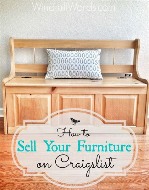 How To Sell Your Furniture On Craigslist Tips From The
