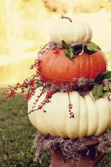 Pumpkin Tower Decoration by Pumpkin Topiaries Decorating Ideas Family