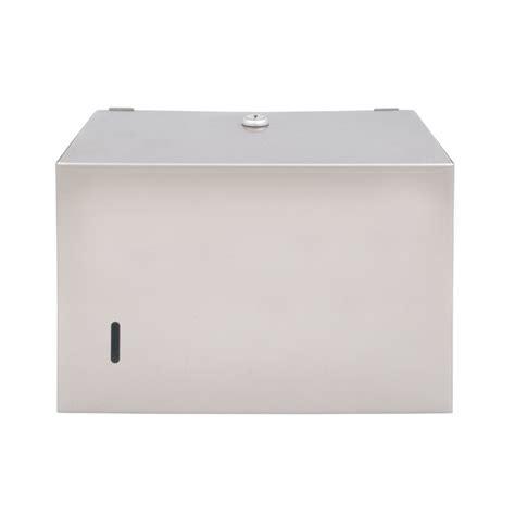 Single Fold Paper Towel Dispenser - bradley 251 15 surface mounted single fold paper towel