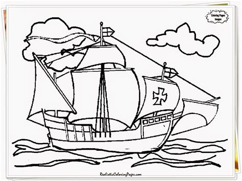 columbus day coloring pages print color craft