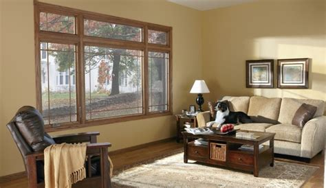Window Treatments For Bay Windows In Dining Room by Casement Windows Traditional Living Room Minneapolis