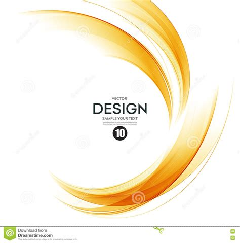 design elements of motion media and information abstract color wave design element stock vector