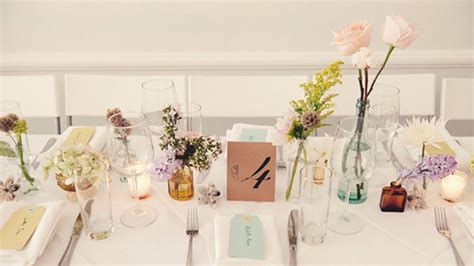 photo table mariage comment decorer table mariage