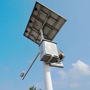 how to solar power surveillance cameras