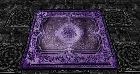 purple and black rug second marketplace rug purple black 4