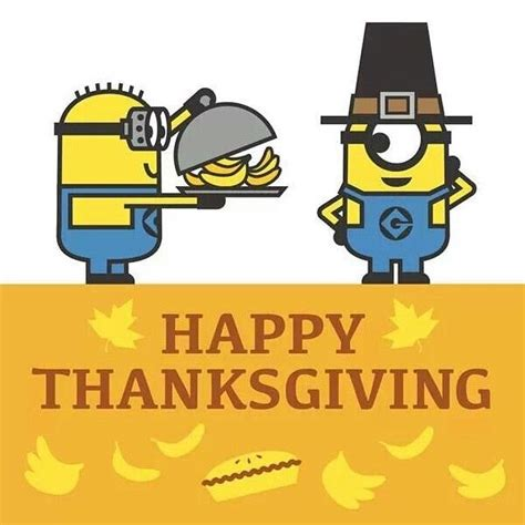 thanksgiving minions pictures   images  facebook tumblr pinterest  twitter