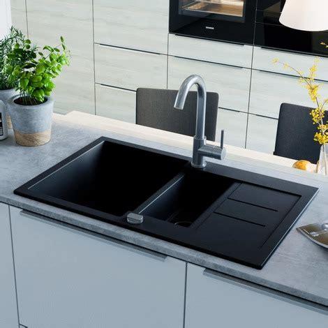 lavelli granito lavello da cucina in granito vasca doppia nero