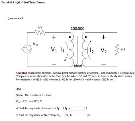 transformer series impedance inductance and transformers find the mutua chegg