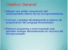 Introducción al lenguaje ensamblador - Monografias.com Lenguaje De Internet