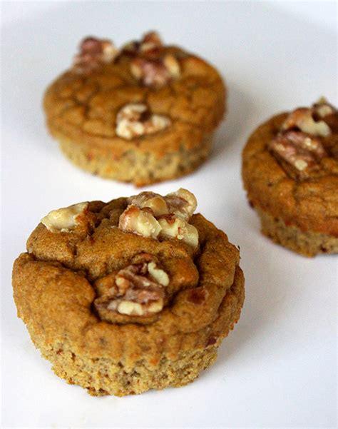 easy paleo gluten free vegetarian pumpkin breakfast muffins popsugar fitness australia
