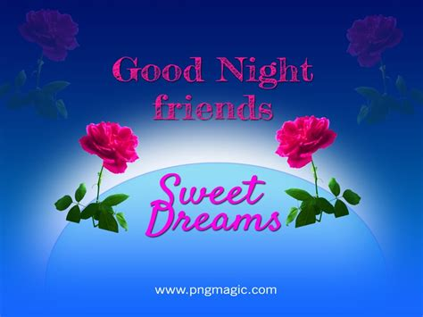 good night messages  friends  pictures