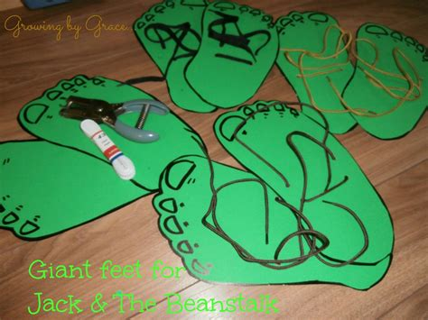 several great ideas for a and the beanstalk unit
