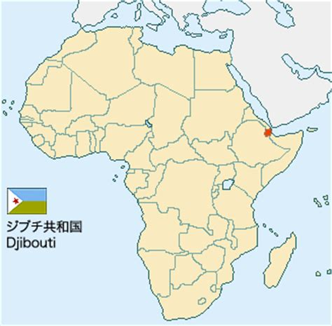 africa map djibouti june 2007 the news