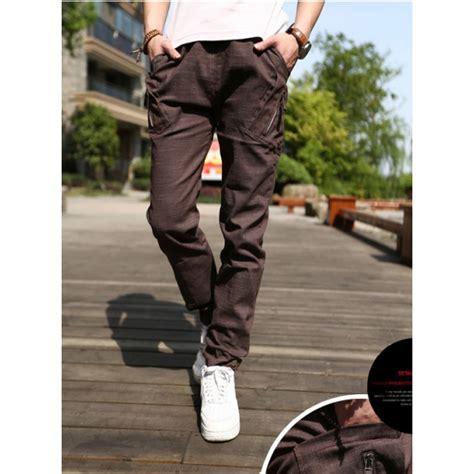 Celana Pendek Korea Pria Casual Garis jual celana panjang pria model korea