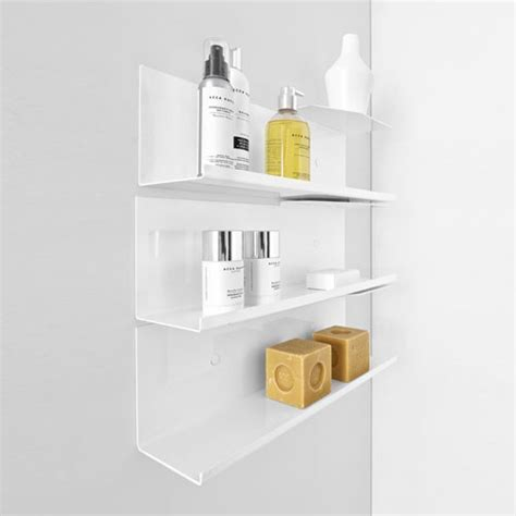 Wall Bathroom Shelves Modern Bathroom Shelves Design Necessities Bath