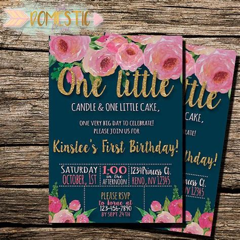1st birthday themes girl pinterest the 25 best ideas about first birthday invitations on