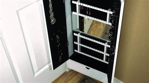 cabidor jewelry storage cabinet the door storage
