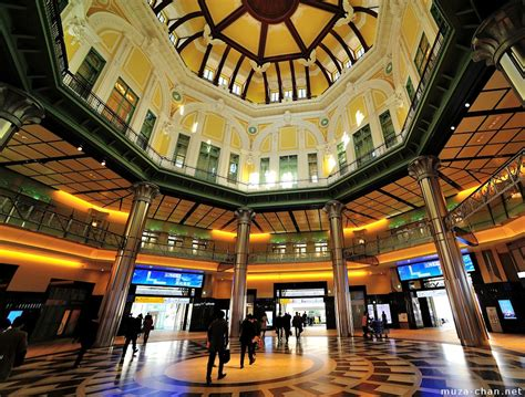 Japanese Style Interior tokyo station s glamorous dome interior view