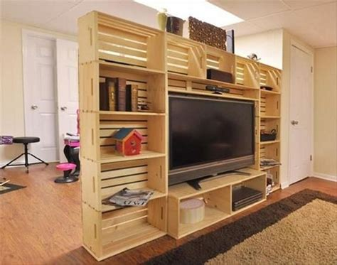 Tv Room Divider Pallet Room Divider Ideas Wood Pallet Ideas