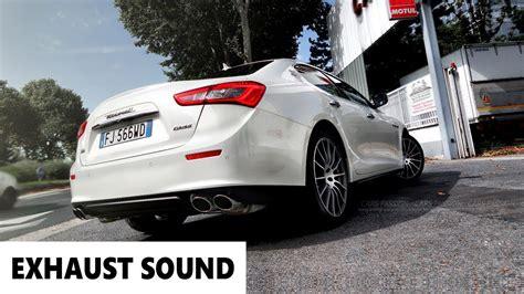 Maserati Exhaust Sound Maserati Ghibli S Q4 Exhaust Sound 2017 Enjoy