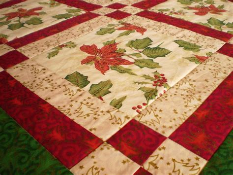 table runner quilt patterns patchwork mill bright poinsettia table runner and