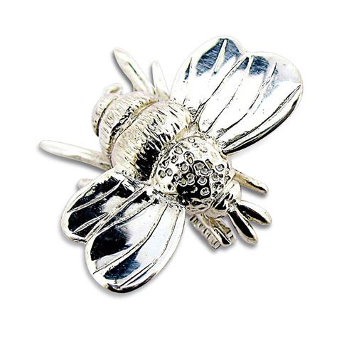 Pin Scrub Bumble Bee bumble bee brooch by will bishop jewellery design
