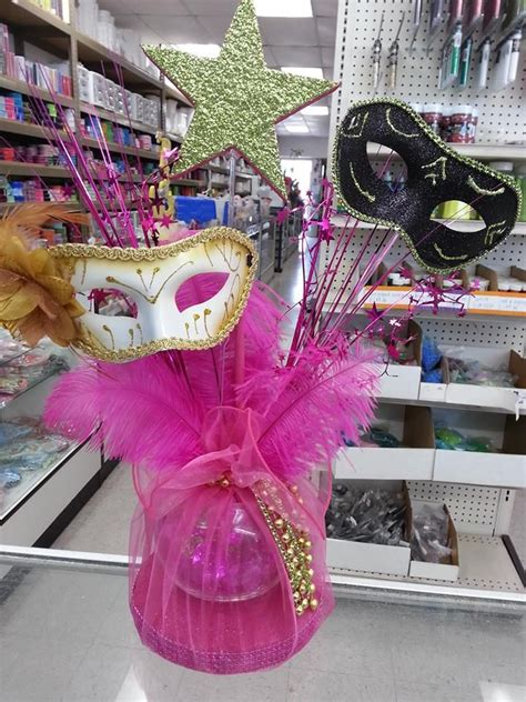 masquerade centerpieces crafts and favors