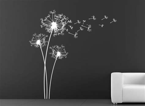 Black And White Wall Stickers best 25 dandelion wall decal ideas on pinterest