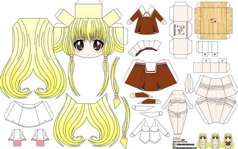 Anime Chibi Papercraft - chii joey s chibi 049 by eljoeydesigns on deviantart