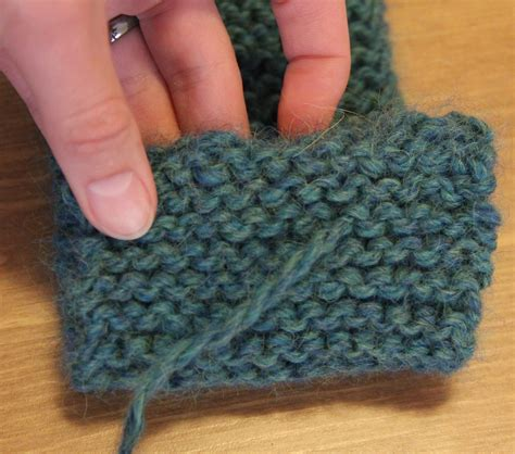 finishing knitting finishing knitting weaving in the tails needles and