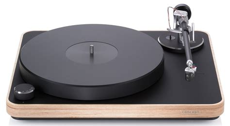 clear audio clearaudio concept wood turntable dedicated audio