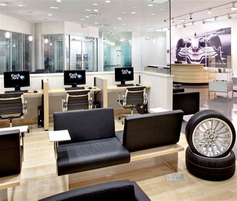 Handmade Auto Dealer Showroom by Salon Interiors