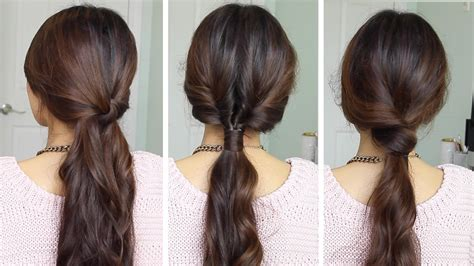 Running Late Ponytail Hairstyles 183 Just Bebexo A | running late ponytail hairstyles hair tutorial youtube