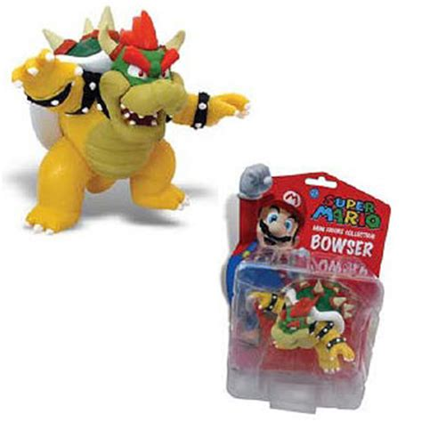 Bros Mini mario bros bowser 3 inch mini figure goldie