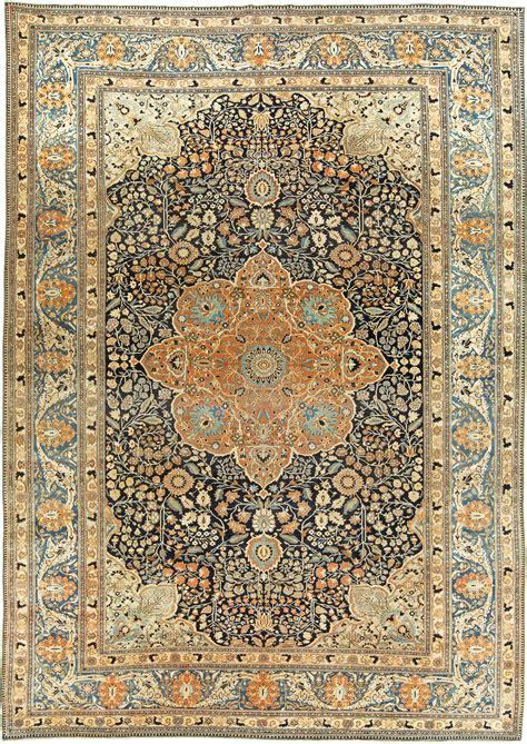 Modern Persian Rug Antique Persian Mohtashem Kashan Rug Bb6141 By Doris