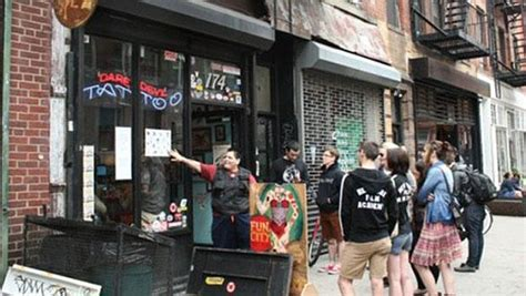 friday the 13th tattoos nyc shops offer 13 tats in honor of friday the 13th wnyc