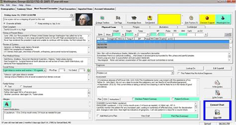 Washington Records George Washington Emr And Ehr