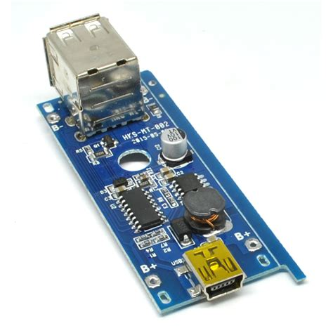 Modul Multi Ac Dual Usb Charger Modul 5v 1a 2a For 18650 Diy Power Bank