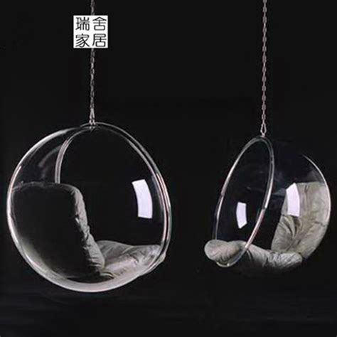 Egg Chair Swing Comfortable Clear Acrylic Egg Shaped Swing Chair Buy Egg
