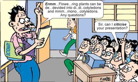 karikatur hari guru perbedaan antara pendidikan dan pengajaran penyair gelas